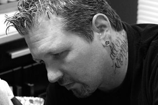 Carter Moore, Owner and Tattoo Artist